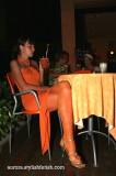 Orange… Shiny orange…