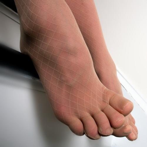 Pantyhose toes pics