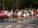 Girls in shiny Danskin tights (The Flower Festival in NL)