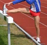 Men, sport, shiny pantyhose