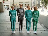 Lycra catsuits in ad campaign