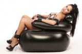 Inflatable Bondage Chair and Self-Bondage