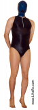 Man in swimsuit and pantyhose