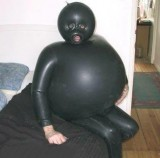 Do not fart in a wetsuit!