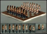 Fetish (self-bondage?) chess