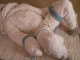 mohair-20 bound in multilayered woolen zentai