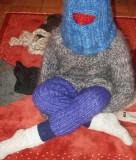 mohair-25  multilayered woolen zentai