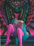 shu_qi-15  Pink Latex stockings