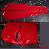 Stumbled upon on eBay. Heavy rubber latex (self)-bondage bodybag