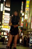 Dressing up for Tokyo Kabukicho or latex and shiny pantyhose