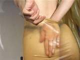 transparent latex pantyhose