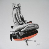 Women and fetish art. Part II. Fetish paintings by Jindra Noewi