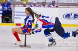 Hockey and shiny pantyhose