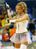 Russian cheerleaders and fishnets
