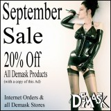 September Demask sale