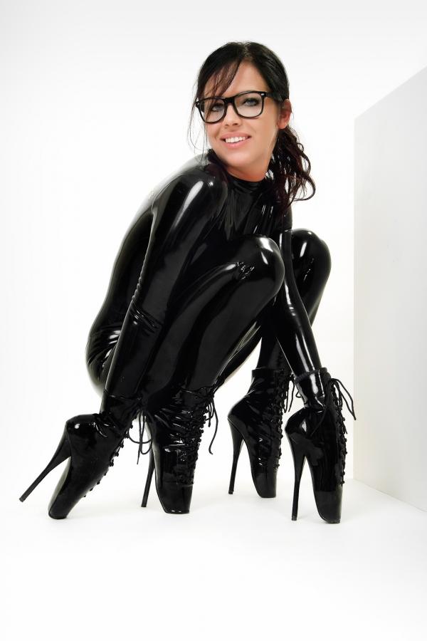 Ballet boots bondage