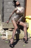 pantyhose encasement transparent pvc