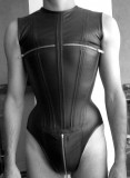 Swimsuits with corsets for men and women