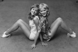 Pantyhose in the fashion of the 70's