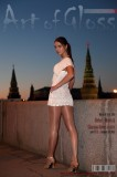 The art of glossy pantyhose. Part V. Moscow, Kremlin
