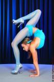 Flexy girls and blue pantyhose. Natasha. Part I