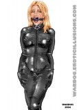 Wardog bondage fetish latex art (15)