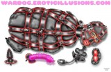 Wardog bondage fetish latex art (12)