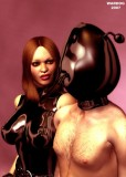 Wardog bondage fetish latex art (2)