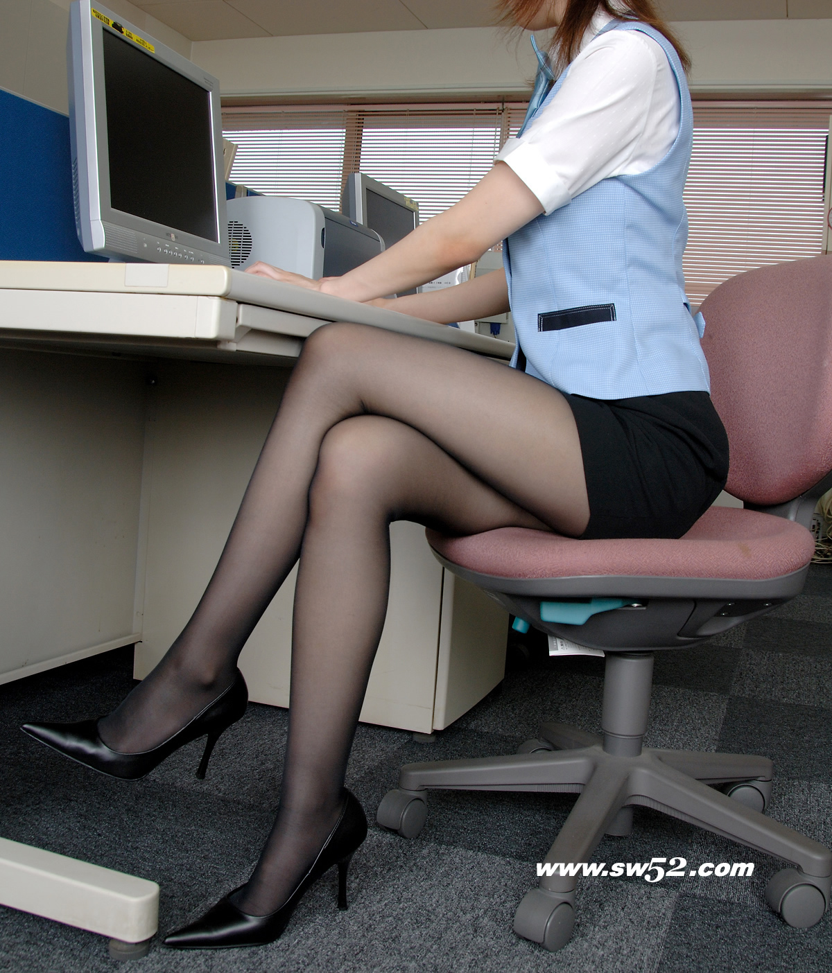 You Like Pantyhose Sexy Office 54