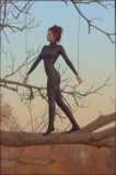 Catsuits with and without feet or a Beauty in the trees