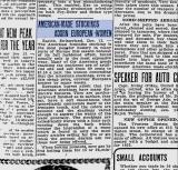 American vs European Stockings. In 1924.