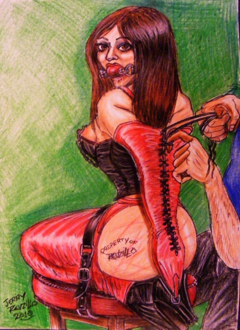 Porn tube Bikini female cartoon