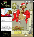 Christmas bondage, Christmas fetish and Christmas kinky cards. Part II