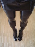 What are these pantyhose made of? Latex?