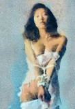watercolor-aquarell-bondage-fetish-04-Nero