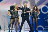 Eurovision song festival 2012. Part III. Georgia and leather studded swimsuits