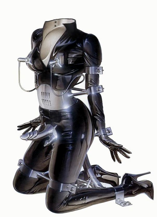 Latex Selfbondage