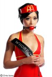 Gagged McPervert or McMaid in latex