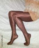 "Playing with Oroblu Samantha ""leather"" pantyhose"