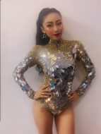 Weird Aliexpress fashion. Leotards with mirrors